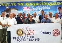 Rotary Club of Royal Hin Stimulating the Hua Hin Hospital