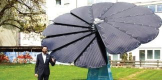 Smartflowers Provide Smart Power