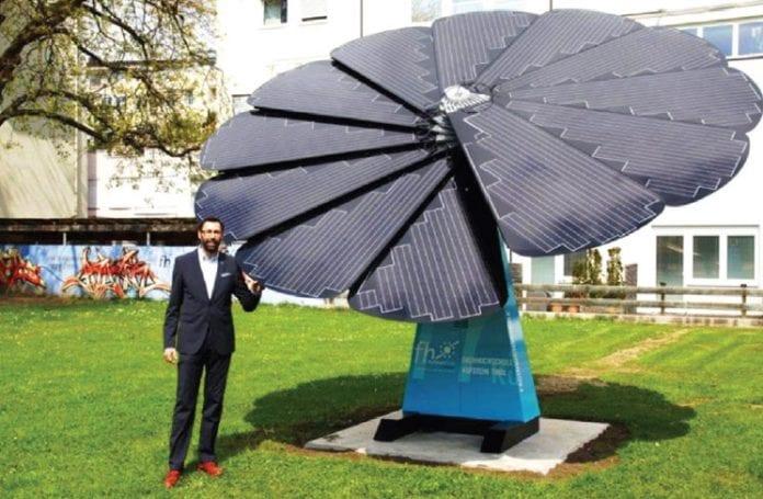 Smartflowers Provide Smart Power