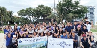 Beach Clean Up At Baba Beach Club Hua Hin and Thew Talay Estate