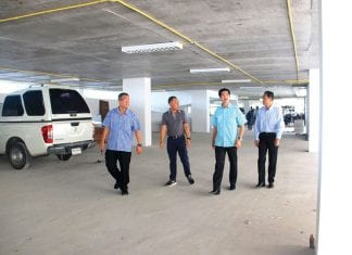 Opening New Parking Building in Hua Hin