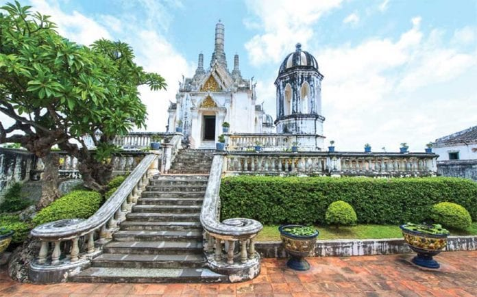 Phra Nakhon Khiri; the Historic Monument to the Chakri Dynasty in Phetchaburi