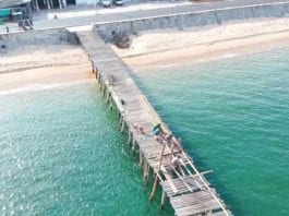 Renovating the Thup Sakae Wooden Jetty as a Tourism Attraction
