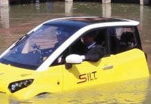 Watertight Electric Car is a Flood-Survivor