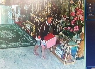 CCTV Used to Catch Temple Thief