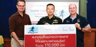 """Run to Give Hua Hin 2018"" Raises 340,000 THB"