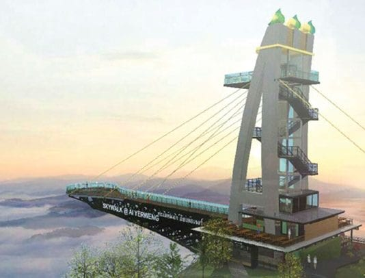Longest Skywalk in Asia to be Built in Southern Thailand