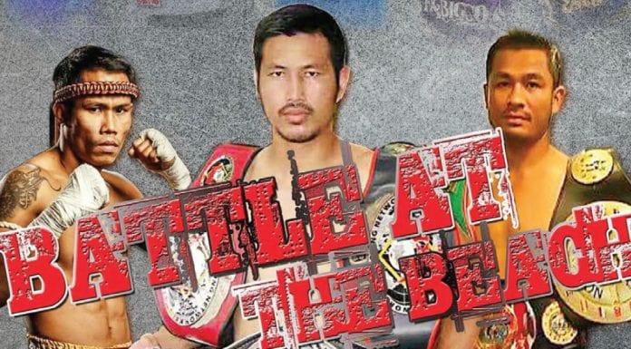 Muay Thai in Cha-Am the 'Battle at the Beach'