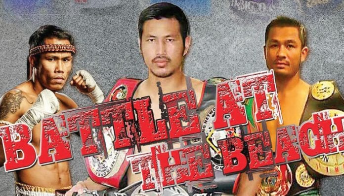 Muay Thai in Cha-Am the 'Battle at the Beach'