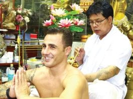 Thailand's Sak Yant Tattoos by the Master; Ajarn Noo Kanpai