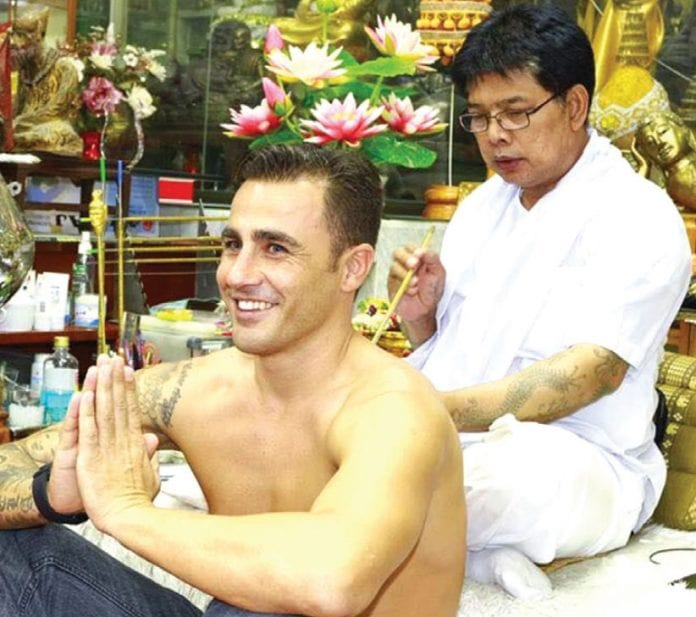 Thailand's Sak Yant Tattoos by the Master; Ajarn Noo Kanpai