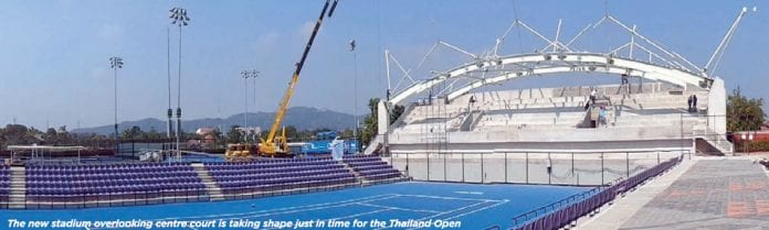 Toyota Thailand Tennis Open This Month in Hua Hin