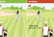 About The New Rules of Golf – Standing In Line