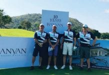 Award Winning Banyan Golf Club Celebrates its 10th Anniversary in Style