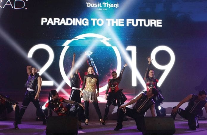 Parading to the Future Dusit Thani Hua Hin New Year Eve CelebrationsParading to the Future Dusit Thani Hua Hin New Year Eve Celebrations