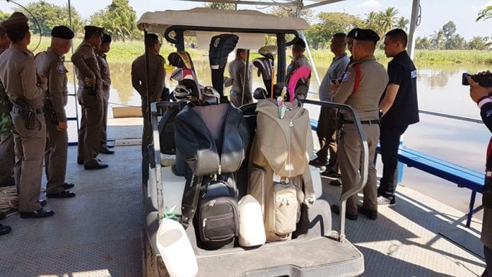 Korean Golfers Drown in Phitsanulok Buggy Accident
