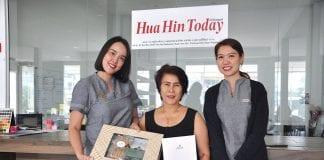 Happy New Year to Hua Hin Today From Chiva-Som