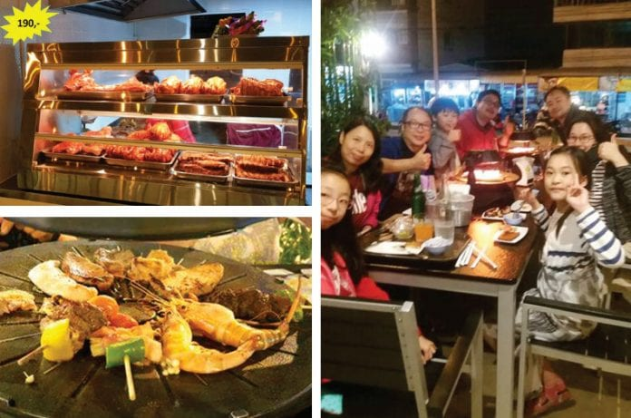 Korean Style BBQ in Hua Hin