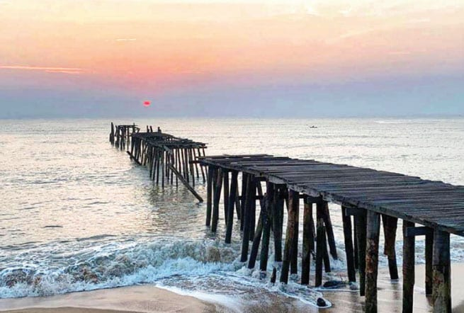 Fund Raising to Repair a Landmark Wooden Pier