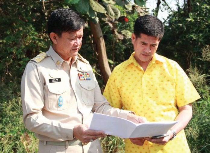 Solving the issue of drainage Thippawan Village 3