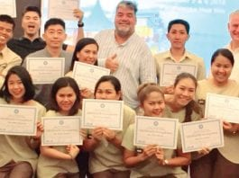 Spirit of Hospitality Masters Class held at Putahracsa Resort