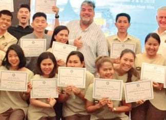 Spirit of Hospitality Masters Class held at Putahracsa Resort