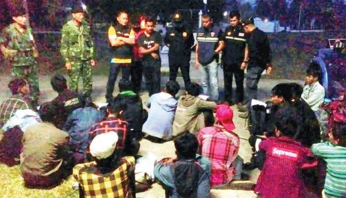 Thais arrested in Prachuap Khiri Khan