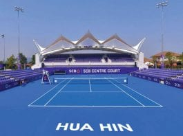 True Arena Centre Court Ready for WTA Thailand