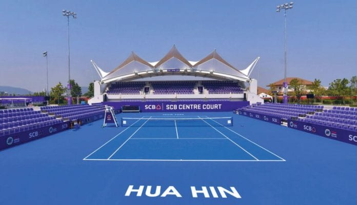 True Arena Centre Court Ready for WTA Thailand