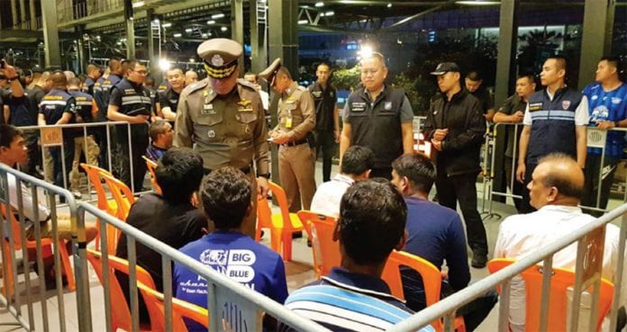 Immigration's Tally of Foreigners Arrested Hits 8,400