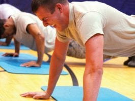 Men who can do 40 push-ups less likely to develop heart disease