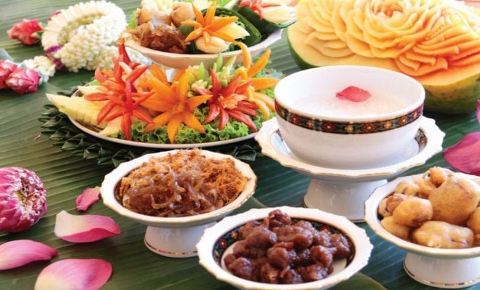 The Seasonal Treat of Khao Chae Mango and Sticky Rice at the Dusit Thani Hua Hin