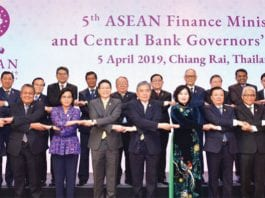 ASEAN finance ministers and central bank governors meet in Chiang Rai