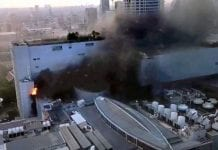 Two killed, 20 injured after fire breaks out at Bangkok shopping mall