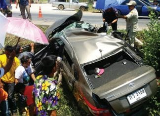 FATAL accident caused by Dozing Off!