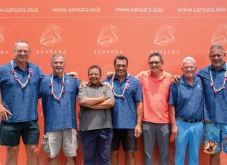 All Blacks Rugby Legends visit Sansara!