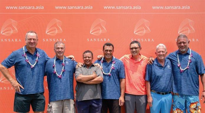 All Blacks Rugby Legends visit Sansara!