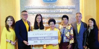 Cape & Kantary Hotels Donates 500,000 Baht to SOS Children's Villages Thailand
