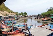 Discussions on trespassing issues along Klong Baan Takiab