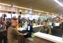 Thai Immigration to Introduce Facial And Fingerprint Recognition at All Airports and Border Checkpoints
