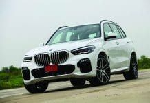 All-New BMW 3 Series and BMW X5 Test Drive at Pathum Thani Speedway