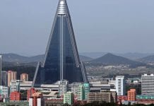 "Ryugyong Hotel in North Korea: ""HOTEL OF DOOM"""