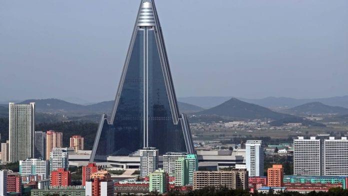 Ryugyong Hotel in North Korea: