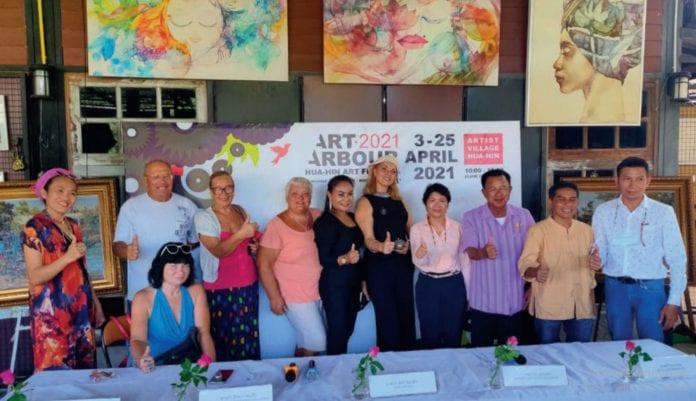 Art arbour Hua Hin Art festival