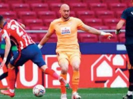Atletico cruises to victory over eibar