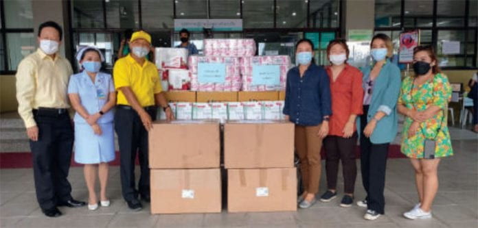 Flowing heart to support Hua Hin hospital