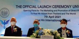 HUA HIN AIRPORT SET FOR MORE INTERNATIONAL FLIGHTS