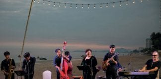 "Make the scene for ""Jazz at sea"" by Sheraton Hua Hin"