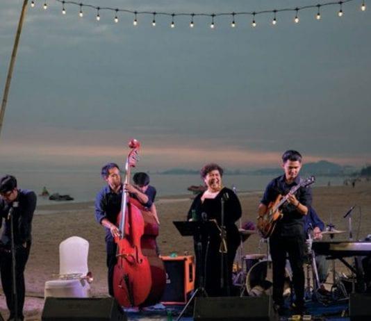 "Make the scene for ""Jazz at sea"" by Sheraton Hua Hin"