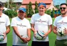 Walking football in Hua Hin
